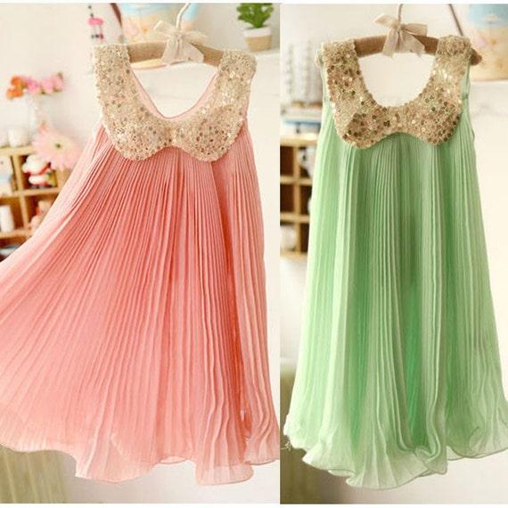летние платья для девочек фото
