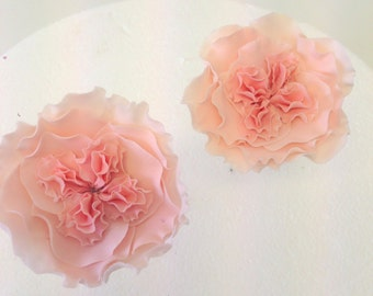 """Small vintage """"Davis Austin"""" style rose with multi-centre feature.  Hand-made to order, can be made in any colour."""
