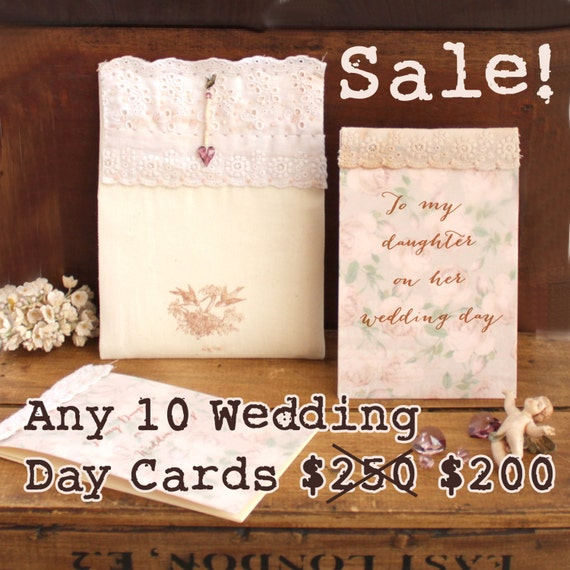 Wedding Gift Sale: SALE: Wedding Gift For Daughter Wedding Card Wedding Card