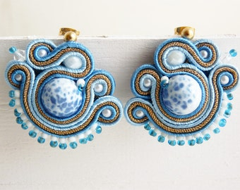 Soutache earrings mini