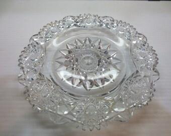 American Brilliant Dish Under Dish For Mayonnaise Crystal