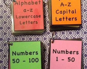 Alphabet Number Recognition teacher made resource bundle