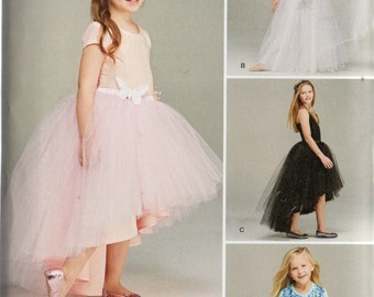 Simplicity TULLE SKIRT Pattern 1122 Child's 3 4 5 6/Girls 7 8 10 12 14