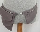 Belt Pocket , Hip Bag, Utility Belt, Festival Pocket Belt, Fanny Pack