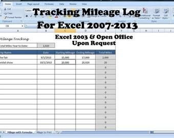 automobile mileage tracker