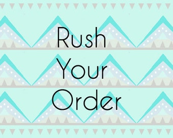 RUSH Order Processing Fee
