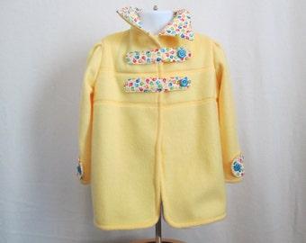 Fashion Forward Girl's Fleece Jacket  4T