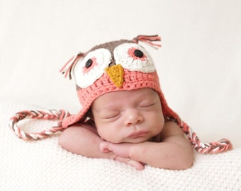 Newborn Owl Hat