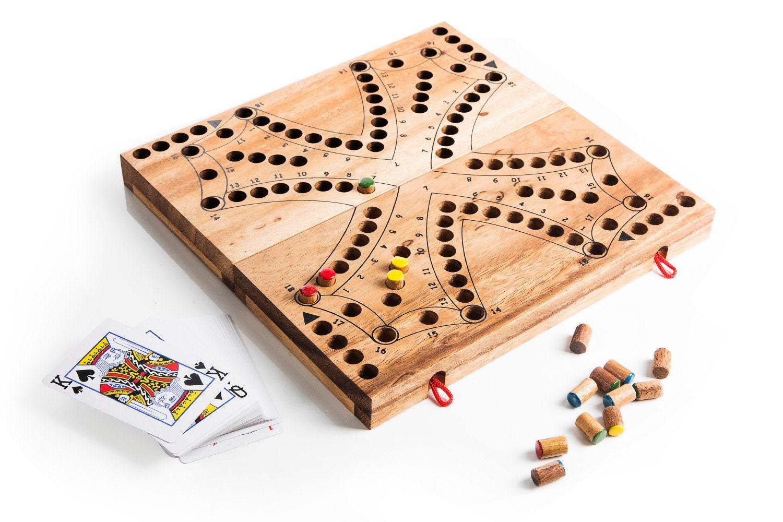 tock 4 bois jeu de strat gie jeu de soci t en bois jeu. Black Bedroom Furniture Sets. Home Design Ideas