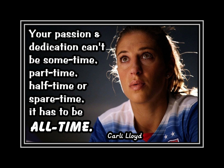 Carli Lloyd Quotes Endearing Carli Lloyd Quotes Custom Top 18 Quotescarli Lloyd Az Quotes