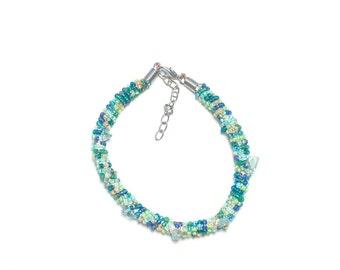 Teal & Blue Bracelet