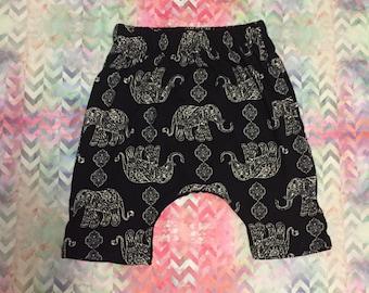 Harem style shorts