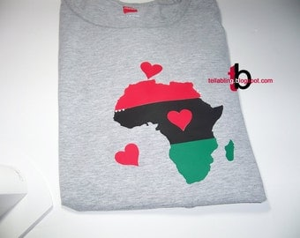 African Map Vinyl Decals - SVG Digital Download