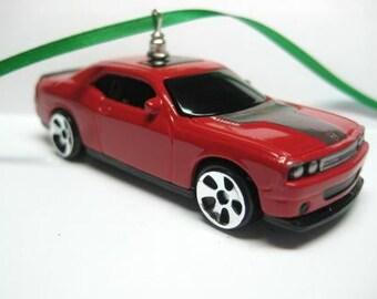 2008 Mopar Dodge Challenger 6.1 Hemi SRT8 Muscle Car Christmas Tree Ornament