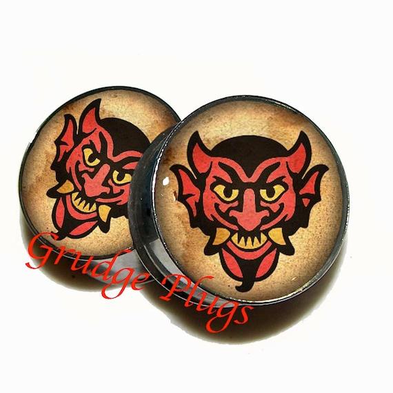 Devil S Kiss Vigor Plugs 1 Pair 2 Plugs Sizes 6g To