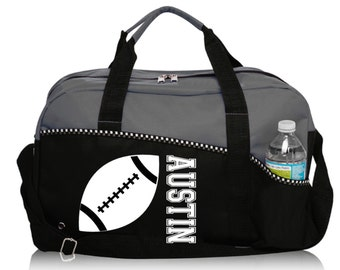 ON SALE! Personalized Football Bag