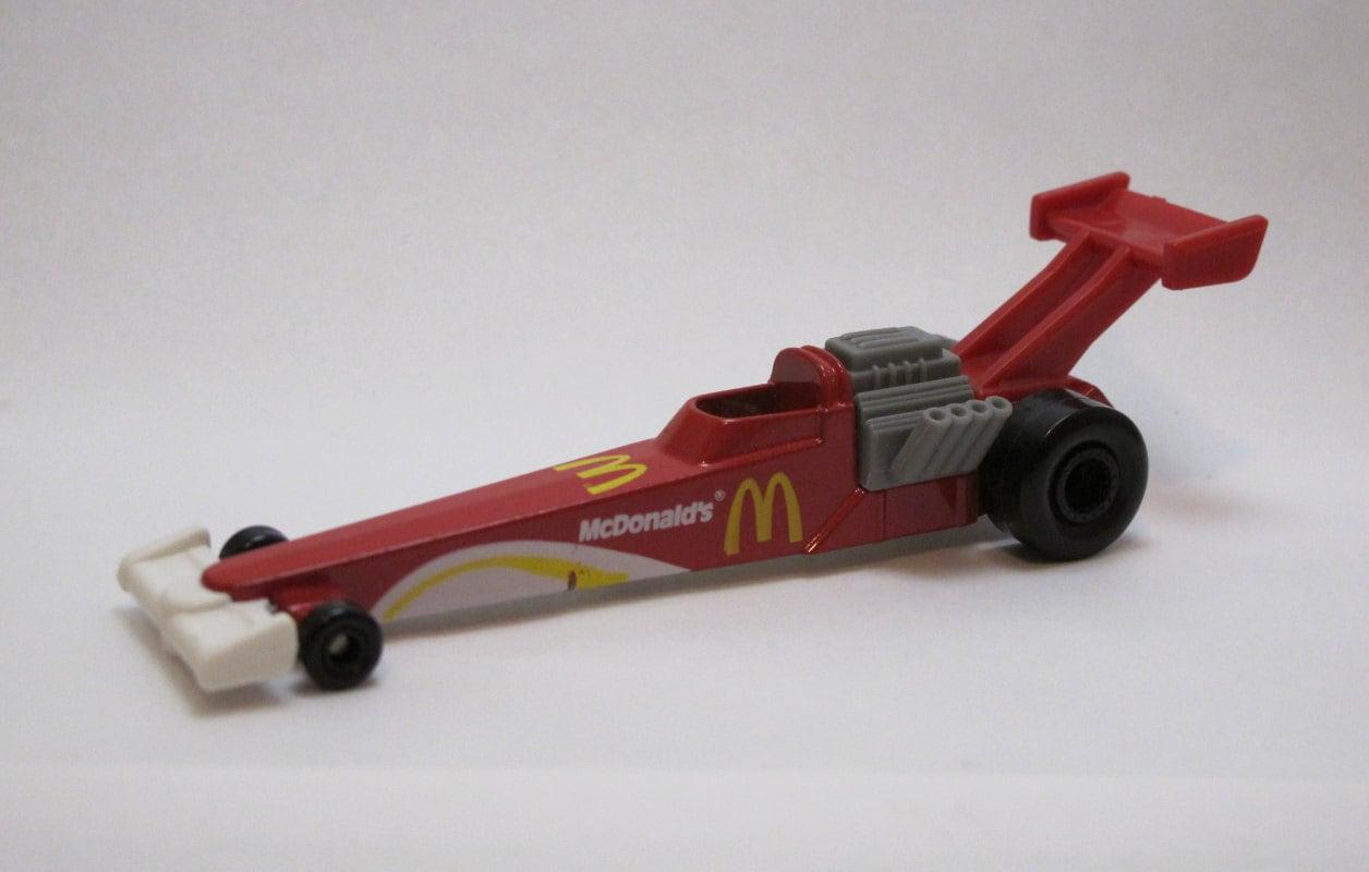 Vintage 1993 Mattel Hot Wheels Diecast Mcdonald S Dragster