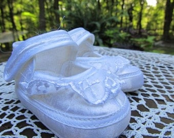 Newborn Baby White Shoes