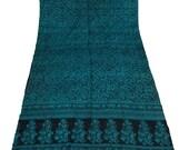 Vintage Pure Silk Saree Dress Wrap Antique Art Craft Women Dress Pure Silk Printed Beige Sari Used Saree- -ITD26062