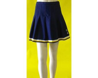 Vintage 90s Cheerleader Mini Skirt