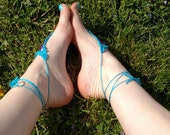 Custom listing for Jana! Barefoot sandals