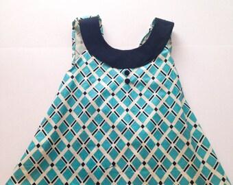 Mod Baby Dress 0-3 months