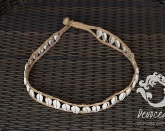 Cowrie Shell Belt - Gypsy Belt - Boho Belt