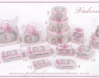 """Parcel and Hat boxes """"Valentine"""""""