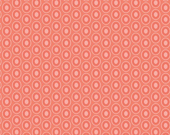 Half Yard - 1/2 Yard of Oval Elements Pomelo - Art Gallery Fabrics