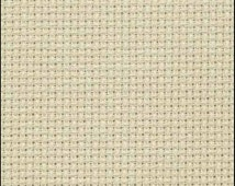 """16 COUNT ZWEIGART Aida Fabric - 18"""" X 21"""" with free needles and free pattern"""