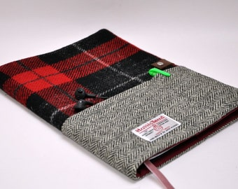 HARRIS TWEED A4 notebook cover - Bespoke