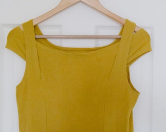 Mustard Yellow Dress, Size Small