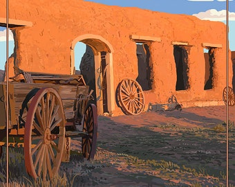 New Mexico - Fort Union National Monument (Art Prints available in multiple sizes)