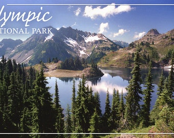 Olympic National Park - Hart Lake (Art Prints available in multiple sizes)