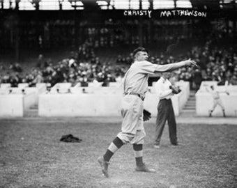 Christy Mathewson, New York Giants, Baseball Photo #3 (Art Prints available in multiple sizes)