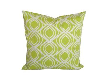 16''x16'' Lime FishEye Decorative Pillow Cover