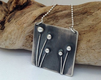 Field of Poppies Pendant