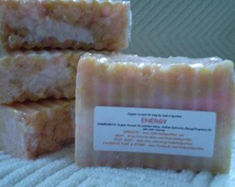 Energy Organic 100% Coconut Oil Soap Bar - 5-6oz. Each