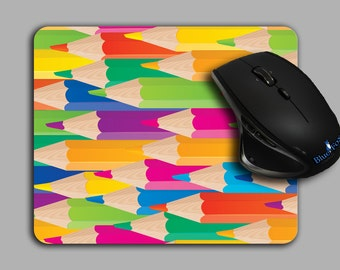 Artist Mouse Pad, Colored Pencil, Cloth top mousepad,MP-107