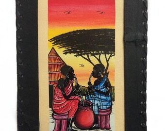 A vivid Ethiopian painting