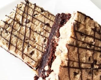 Brownies - Cookie Dough Brownies - Cookie Dough - Chocolate Chip Cookie Dough Brownies