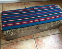 Blue Polish Kilim Table Runner