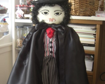 Handmade Collectible Vampire Doll
