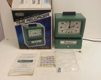 Free Shipping!! Acroprint 125NR4 Time Clock Time Recorder