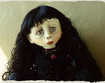 OOAK ART Doll '' Agate ''