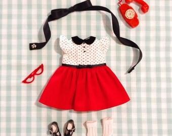 Azhuzhuzhu - dress set for blythe / licca/jerryberry