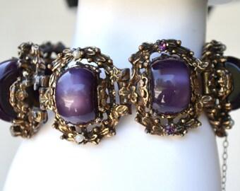 Purple Thermoset Bracelet for Repair or Repurpose