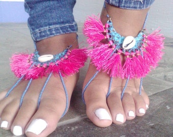 SALE // Barefoot Sandals // Gift // Summer //  Earth Sandals // Chickawa // SALE
