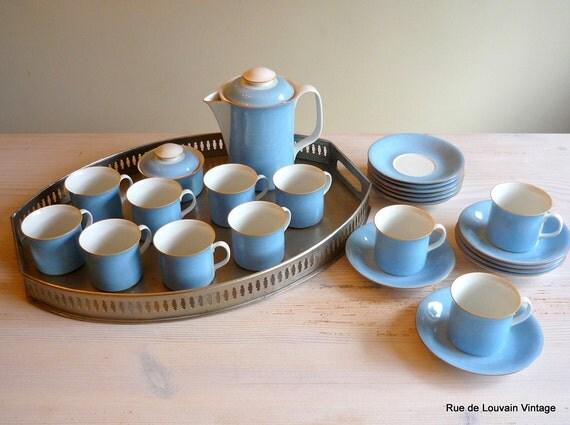 rorstrand primeur blau kaffee set schwedischer kaffee. Black Bedroom Furniture Sets. Home Design Ideas
