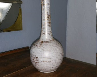 Royal Haeger white and gold vase